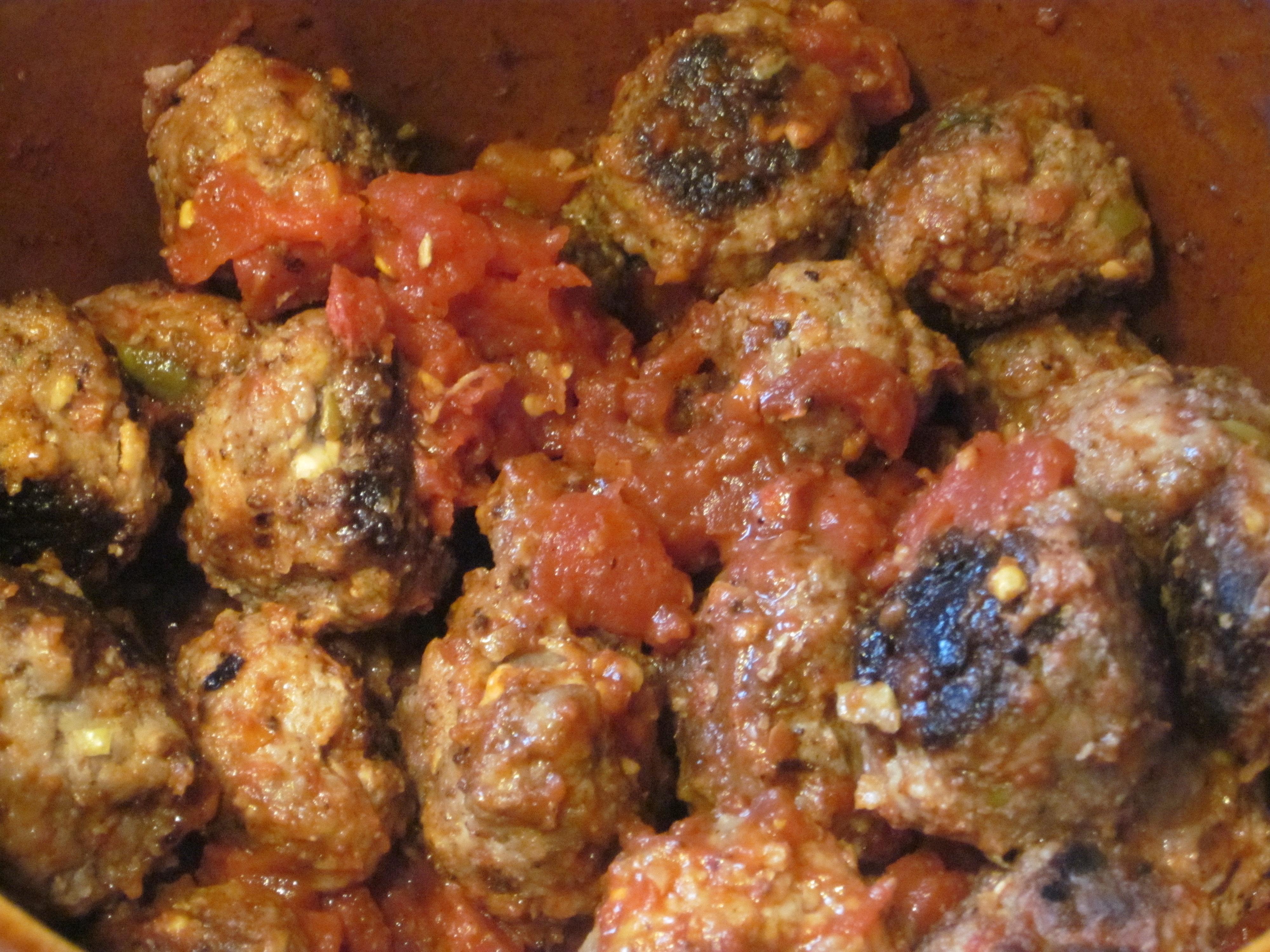Греческие тефтели с кабачками рецепт пошагово
