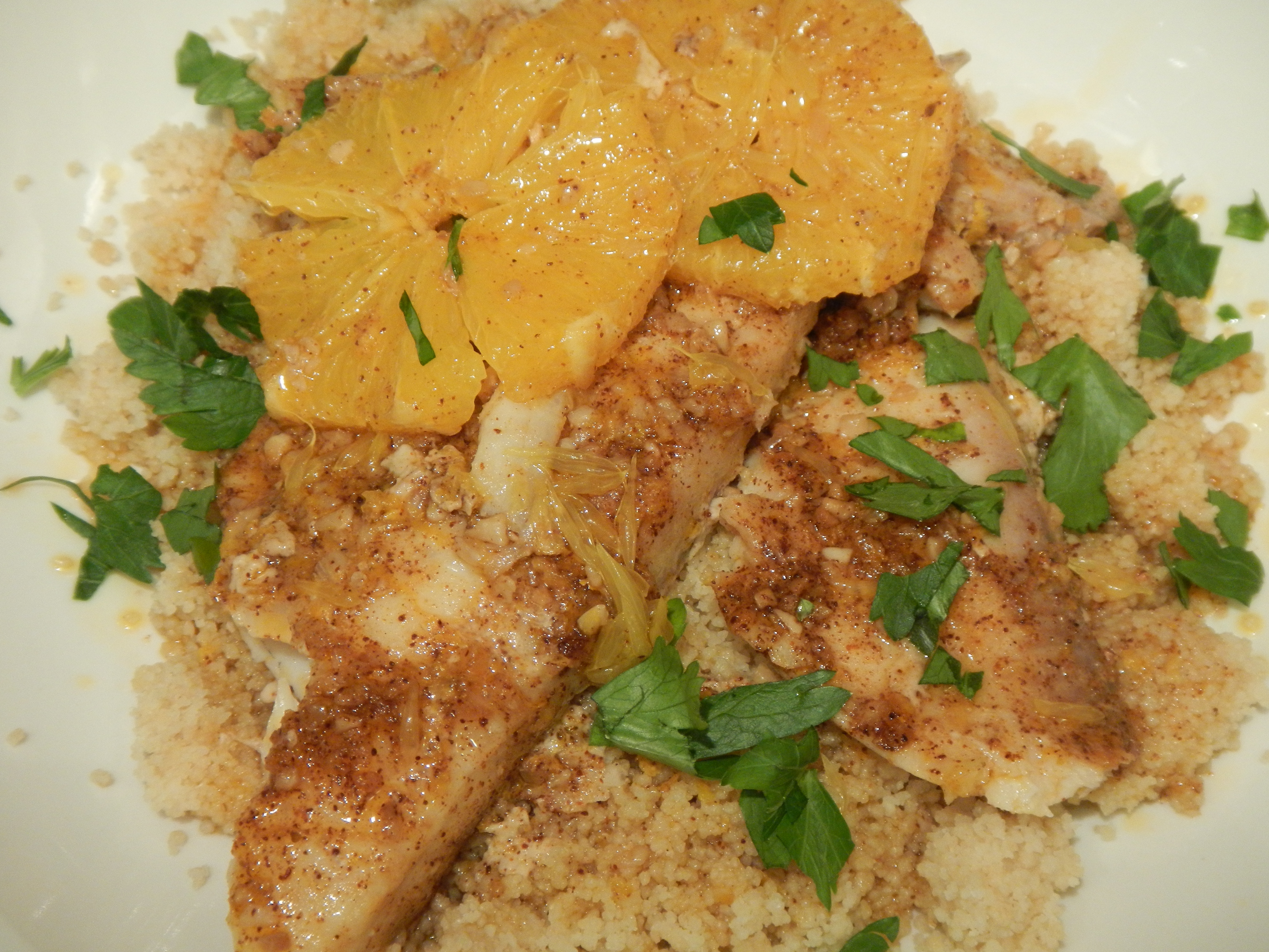 Fish poached in olive oil with oranges this girl s gotta for Frying fish in olive oil