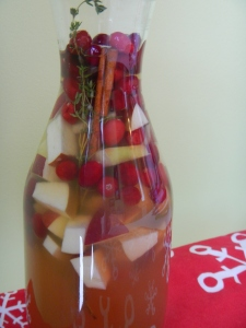 Apple Bourbon White Sangria