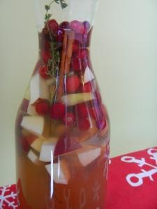 Apple Bourbon White Sangria