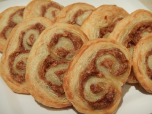 Apple Bourbon Palmiers
