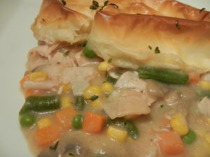 Turkey Pot Pie With Phyllo Crust