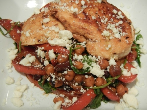 """Greek Salad"" Chicken"