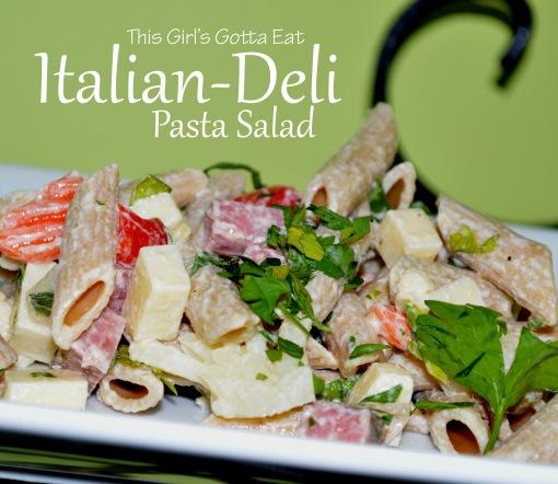 Italian-Deli Pasta Salad