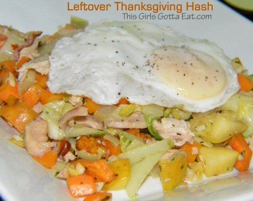 Leftover Thanksgiving Hash