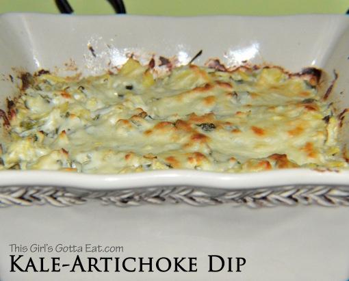Kale-Artichoke Dip