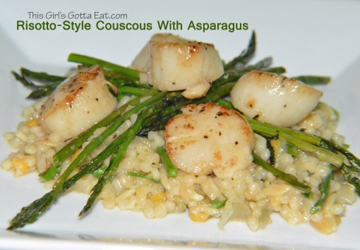 Risotto-Style Couscous With Asparagus