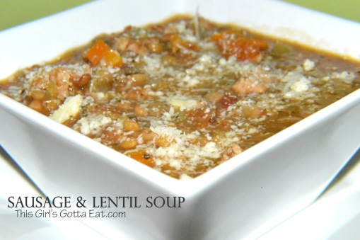 Sausage and Lentil Soup