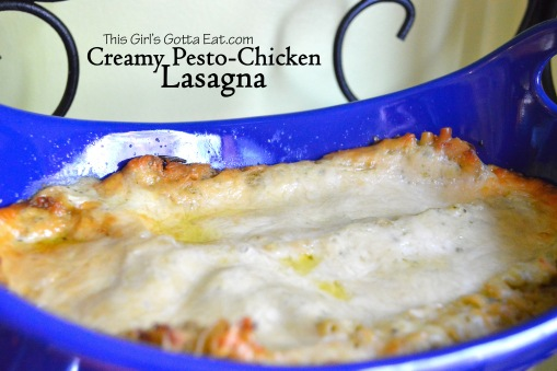 Creamy Pesto-Chicken Lasagna