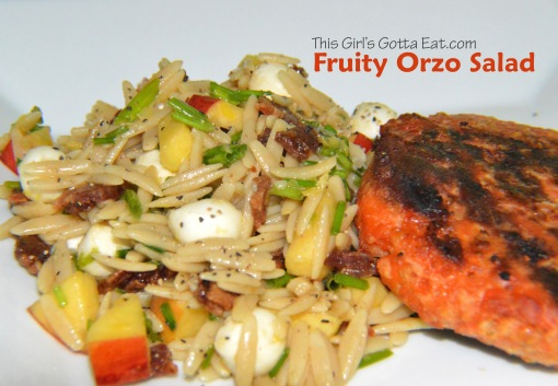 Fruity Orzo Salad