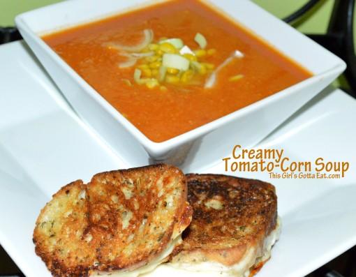 Creamy Tomato-Corn Soup
